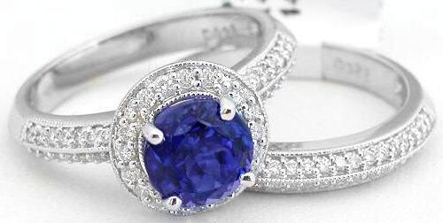 About Tanzanite Wedding Rings Women Wedding Rings